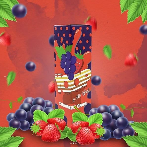 Yoop Strawberry Grape 60ml-0