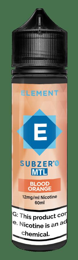Element | Subzero MTL | Blood Orange Ice 60ml