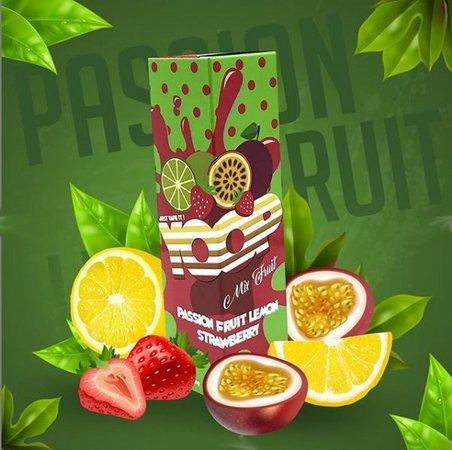 Yoop Passion Fruit Lemon Strawberry 60ml-0