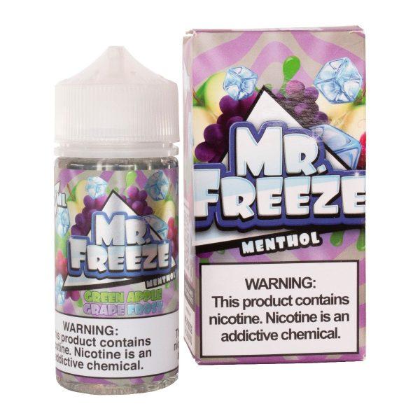 Mr Freeze - Green Apple Grape Frost 100ml-0