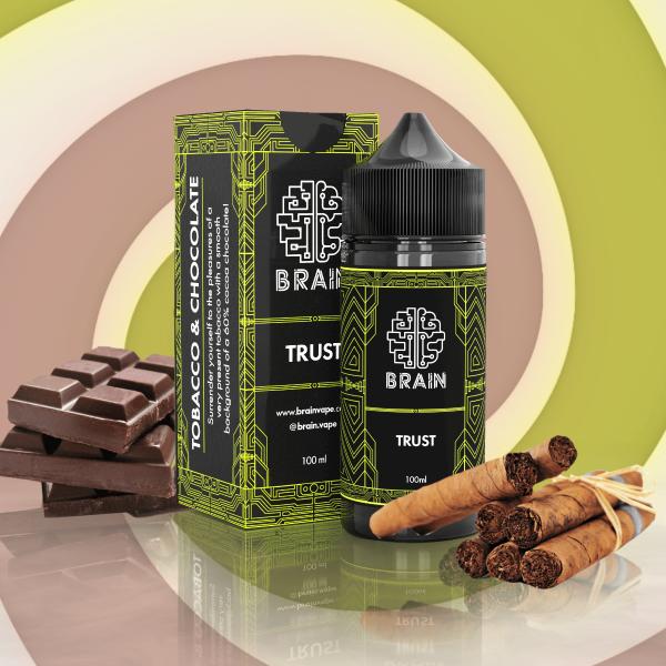 Brain Trust - Tabaco com Chocolate 30ml/60ml