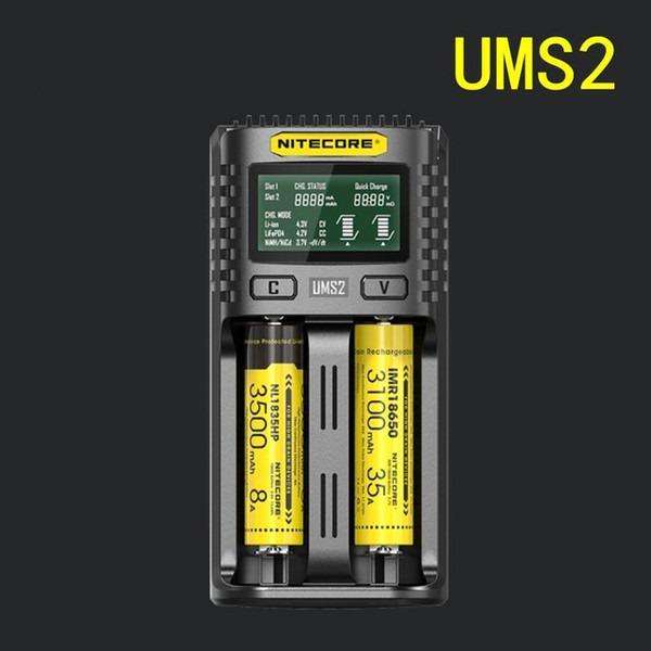 Carregador Nitecore UMS2-0