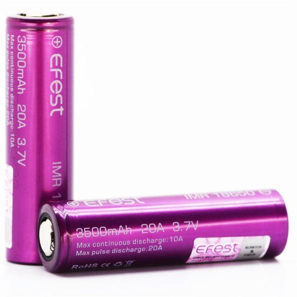 Efest | Bateria Efest 18650 3500mAh