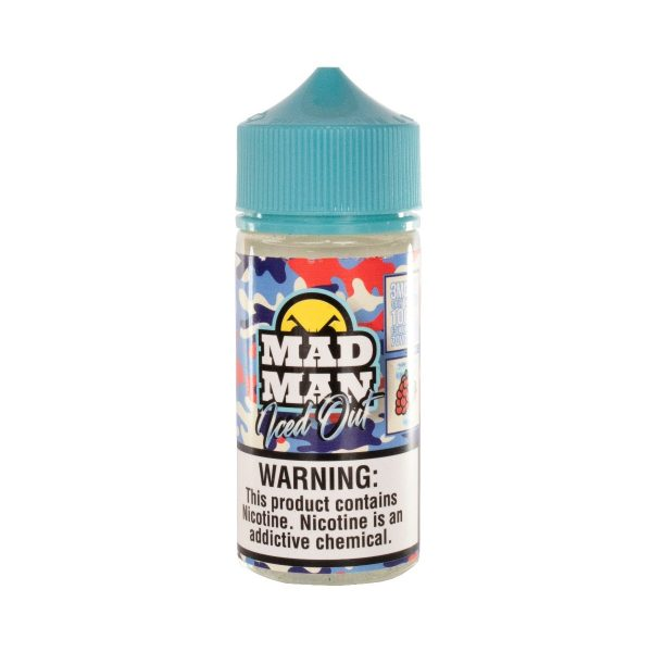 Mad Man Raspberry Iced Out 100ml-0