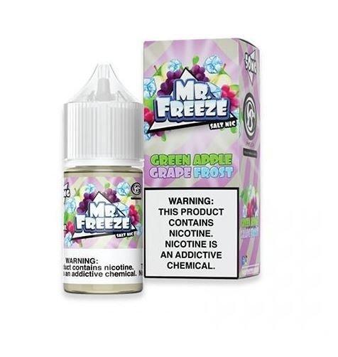 Mr Freeze Grape Green Apple Frost Salt 30ml-0