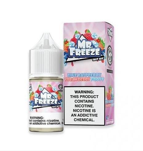 Mr Freeze Blue Raspberry Strawberry Frost Salt 30ml-0