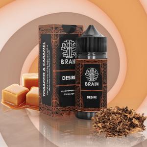 Brain Desire Salt - Tabaco Caramelado 15ml/30ml