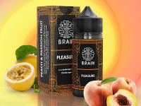 Brain Pleasure Salt | Pêssego e Maracujá 15ml/30ml