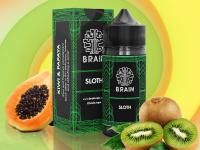 Brain Sloth Salt | Kiwi e Papaia 15ml/30ml