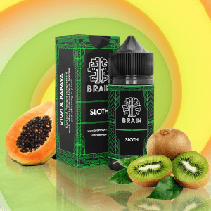 Brain Sloth Salt - Kiwi e Papaia 15ml/30ml-0