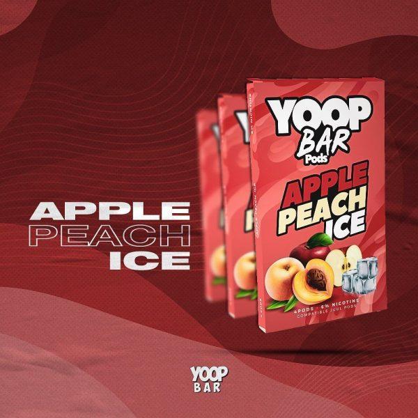 Yoop Bar Refil   Apple Peach Ice