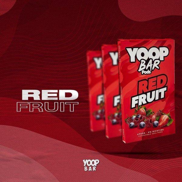 Yoop Bar Refil   Red Fruit