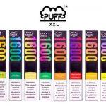 Puff XXL | 1600 Puff Pod Descartável (9 Sabores)
