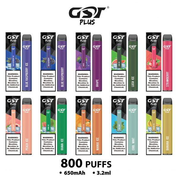 GST Plus | Pod Descartável 800 Puffs