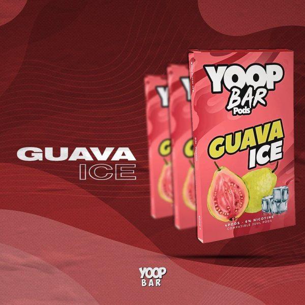 Yoop Bar Refil   Guava Ice