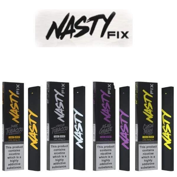 Nasty   Pod Descartável N-Fix (9 sabores)