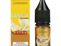 Tickets Brew Co. | Crémano Vanilla Custard Salt 30ml