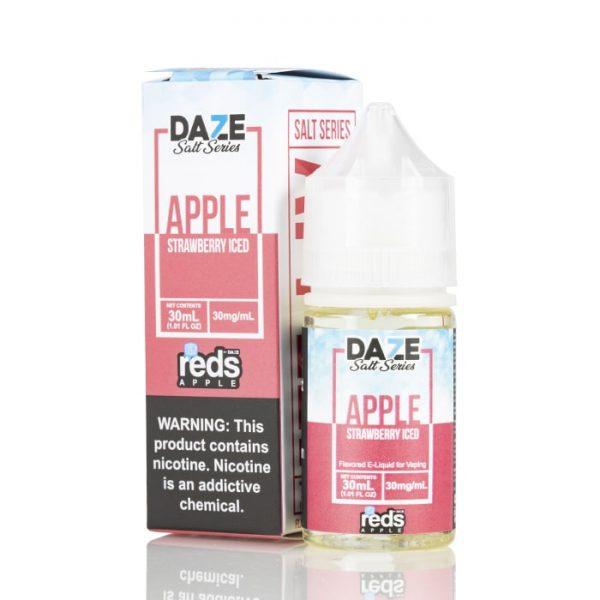 Reds | Apple | Strawberry Iced Salt 30ml