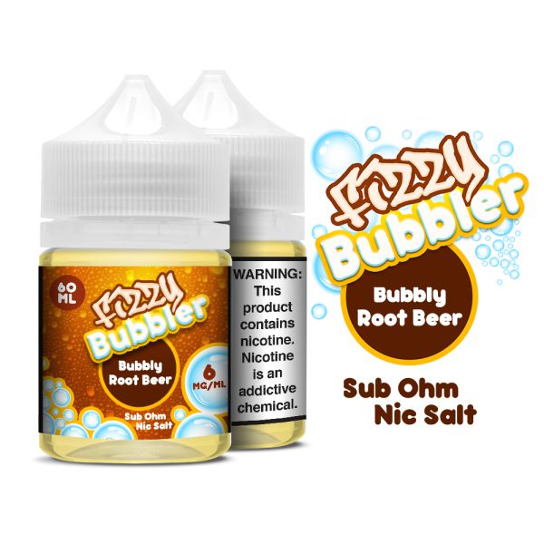 Fizzy Bubbler | Bubbly Root Beer 60ml