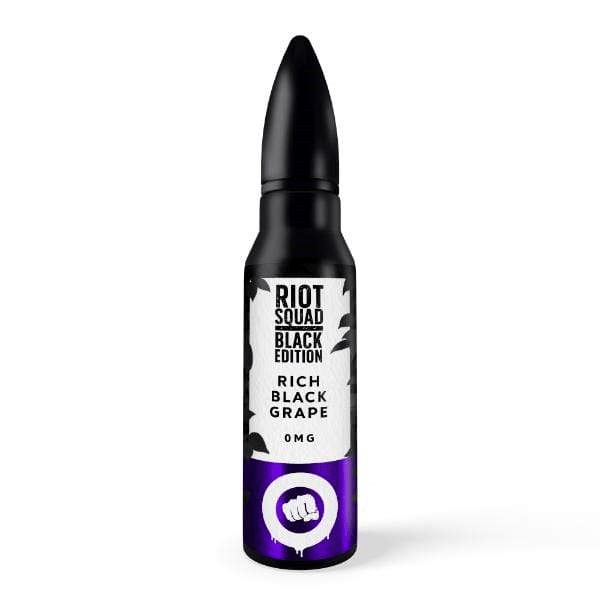 Riot Squad | Black Edition | Rich Black Grape 60ml