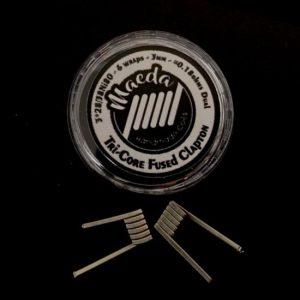 Maeda Coils | Tri-Core Fused Clapton 0,18ohms