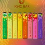 King Bar | Pod Descartável 400 Puffs (9 Sabores)
