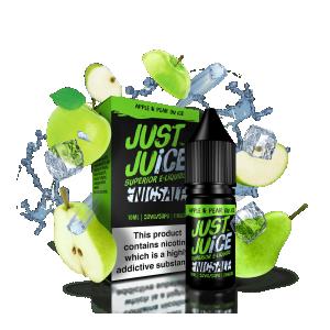 Just Juice   Apple Pear Ice Salt 30ml