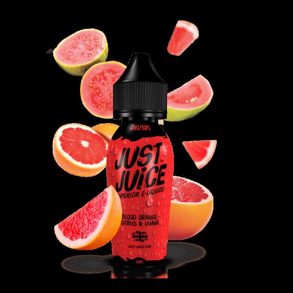 Just Juice | Blood Orange Citrus & Guava 60ml