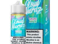 Cloud Nurdz   Grape Apple Iced 100ml