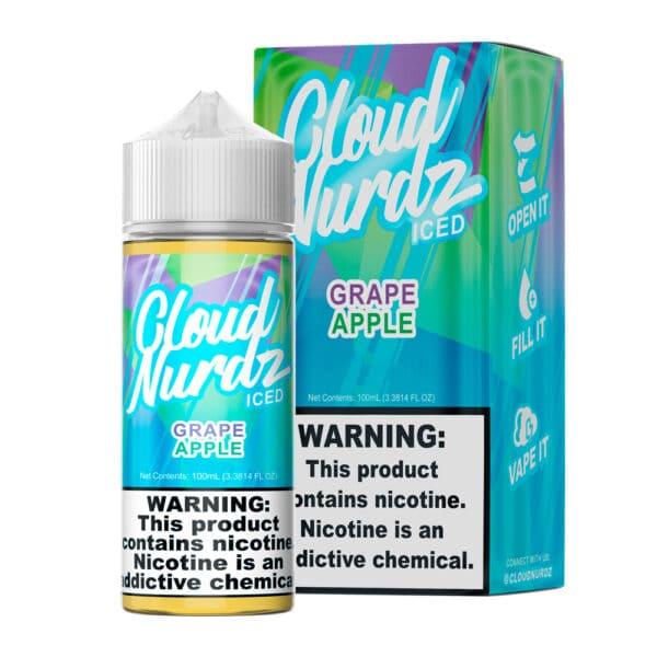 Cloud Nurdz | Grape Apple Iced 100ml