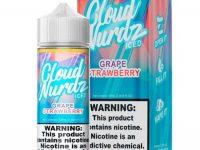 Cloud Nurdz   Grape Strawberry Iced 100ml