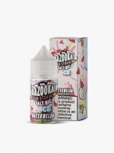 Bazooka! Sour Straws - Watermelon Ice Salt 30ml