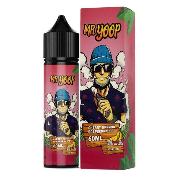 Mr Yoop   Cherry Banana Raspberry Ice 60ml