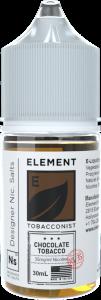 Element | Tobacconist | Chocolate Tobacco Salt 30ml