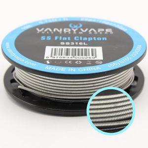 Vandy Vape | Fio SS Flat Clapton Wire SS316L