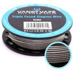 Vandy Vape | Fio Triple Fused Clapton Wire Ni80