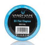 Vandy Vape | Fio SS Flat Clapton SS316L